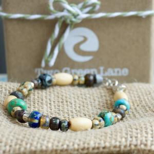multi coloured bracelet 2