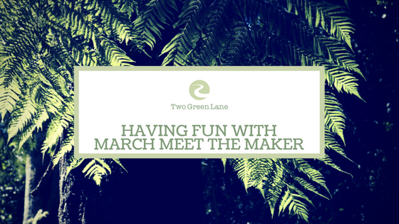 21. Having fun with March Meet the Maker