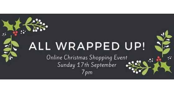 All wrapped up event